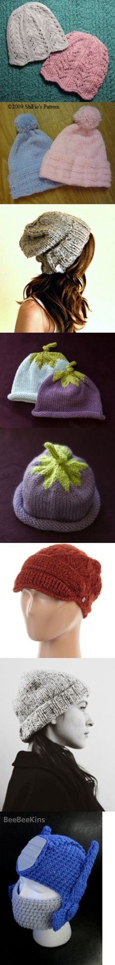 What do you think of these knitted hats?