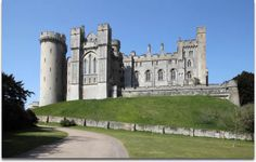 Image of English medieval castle of Arundel the seat of the Dukes of Norfolk.