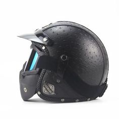 Motorcycles Accessories & Parts Protective Gears individualize motorcycle helmet all handmade leather helmet