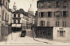 rue Norvins - Paris 18e