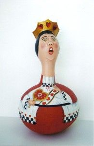 Queen of Hearts Gourd