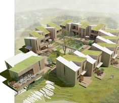 FBAB - Future Sustainable Social Housing The danish firm, DISSING + WEITLING was selected as the final winner of the competition's round for the area Se.At DISSING+WEITLING our goal is to create optimal spaces for human activity – at work, in the h Social Housing Architecture, Co Housing, Community Housing, Sustainable Architecture, Landscape Architecture, Architecture Design, Residential Architecture, Architecture Concept Drawings, Casa Patio