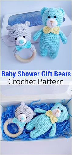 I have rounded up a huge list of free crochet teddy bear patterns for you to get inspired by these cute and soft teddy bears. You could absolutely make them with your own crochet hooks Animal Knitting Patterns, Crochet Amigurumi Free Patterns, Stuffed Animal Patterns, Free Crochet, Crochet 101, Easy Crochet, Crochet Teddy Bear Pattern, Crochet Baby Toys, Crochet Bunny
