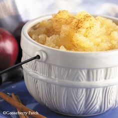 Gooseberry Patch Recipes: Brown Sugar Applesauce