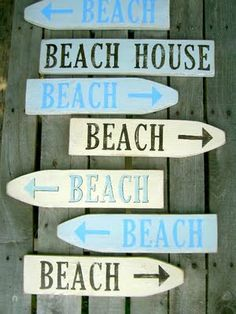 To the beach!