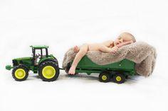 Newborn John Deere