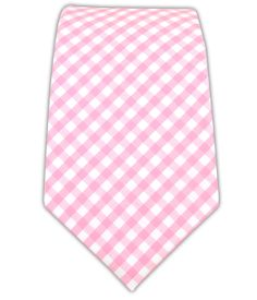 Novel Gingham - Pink (Cotton) | Ties, Bow Ties, and Pocket Squares | The Tie Bar