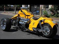 Boss Hoss Trike V8 502ci - Hot Rod Style 8228cc The biggest Engine ever