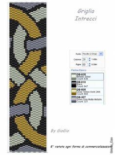 Giogio & Co: Galler / monster peyote Bead Crochet Patterns, Peyote Stitch Patterns, Seed Bead Patterns, Loom Patterns, Beading Patterns, Peyote Bracelet, Peyote Beading, Seed Bead Bracelets, Bookmarks