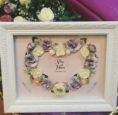 Frame Crafts, Hampers, Wedding Crafts, Waffle, Our Wedding, Diy And Crafts, Favors, Projects To Try, Presents