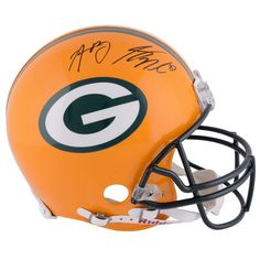 Jordy Nelson, Aaron Rodgers Green Bay Packers Fanatics Authentic Autographed Riddell Proline Helmet
