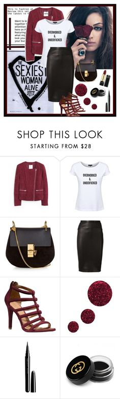 """Dead Legacy: Mila Kunis Style"" by dead-legacy ❤ liked on Polyvore featuring MANGO, Chloé, Narciso Rodriguez, Coach, Topshop, Marc Jacobs, Gucci, milakunis and deadlegacy"