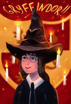 Gryffindor!! by Mellodee
