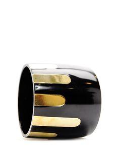 bracelet - looks like gold paint drips