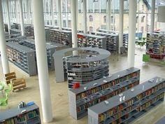 Design Ideas: Halmstad Library -Halmstad, Växjö, Sweden By SHL