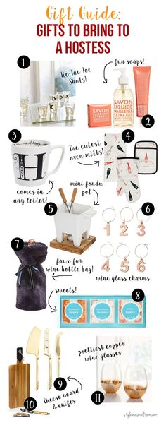 Gift Guide: Gifts To Bring To A Hostess - Style in a Small Town