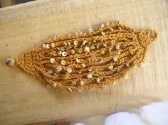 Ravelry: Beaded Chains Bracelet pattern by Fatima Lasay