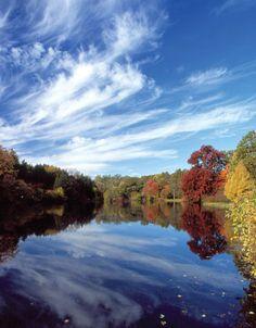 Lake Marmo @ Morton arboretum - a great place for a run.      #mortonarboretum