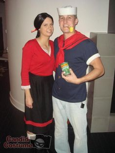 Popeye and olive oyl toddler and dog costumes halloween tyreeves popeye and olive oyl toddler and dog costumes halloween tyreeves ty reeves and molly reeves halloween pinterest solutioingenieria Images