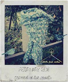 FEBRUARY - garment of the month Questo mese a farci ancora calore, in queste freddine giornate d'inverno ⛄, sarà questa bellissima #sciarpa, fatta dalla mia mamma, interamente a mano, con l'utilizzo dei ferri ovviamente. colonthree emoticon I colori prendono la gamma dei verdi e delle acque marine. Per maggiori info o foto potete contattare in pvt, la nostra pagina. #scarf #sanpietro #madeinitaly #knitting #fashion #green #handcraft