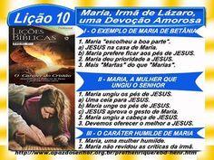 Maria, irmã de Lázaro, uma Devoção Amorosa – Ev. Luiz Henrique - EBD na TV - EBDWeb