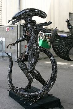 #Recycle Art Sculpture  Share