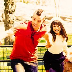 Puckelberry - Rachel Berry & Noah Puckerman - (Actors: Lea Michele & Mark Salling)