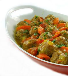 Moroccan Meatball Tagine...from the kitchen of One Perfect Bite courtesy of Bon Appetit