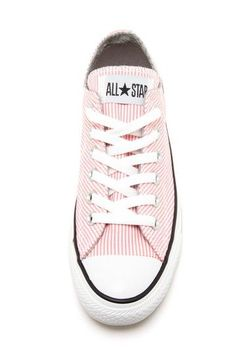 Converse All Star striped low-tops Converse Sneakers, Converse All Star, Pink Converse, Converse Low, Converse Style, Ballerinas, Cute Shoes, Me Too Shoes, Keds