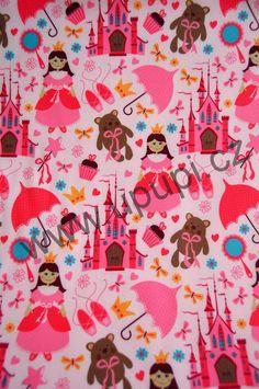 280**Softshell - PRINCEZNY na světle růžové