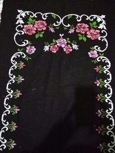 B & B, Embroidery Patterns, Needlepoint, Stitching, Fashion For Girls, Drive Way, Patterns, Needlepoint Patterns, Cross Stitch Patterns