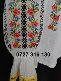 WhatsApp Image at Folk Costume, Costumes, Cross Stitch Charts, Traditional, Embroidery, Blouse, Handmade, Cook, Image