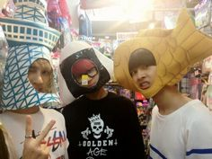 ....yepp those are my to be husbands xD ken to your left ravi middle N to your right xD vixx