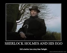The Perfect Blog Title: Jeremy Brett's Sherlock Holmes demotivational posters