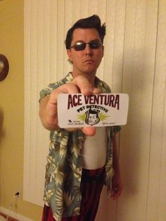 the best halloween costumes of the year - Ace Ventura Halloween Costumes
