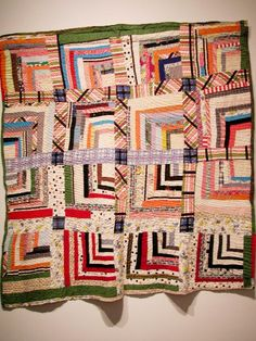African-American vintage quilt from the collection of Corrine Riley seen at Bellevue Arts Museum