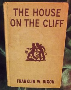 Franklin W. #Dixon The House on the Cliff Book The #HardyBoys First Edition 1927