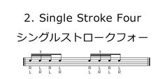 Single Stroke Four-シングルストロークフォー