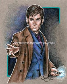 The 10th Doctor (2012) by Scotty    David Tennant