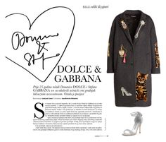 """""""DOLCE&GABANA"""" by sofiy112 ❤ liked on Polyvore featuring Dolce&Gabbana and Manolo Blahnik"""