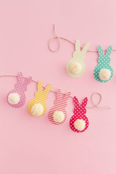 DIY Easter Bunny Garland