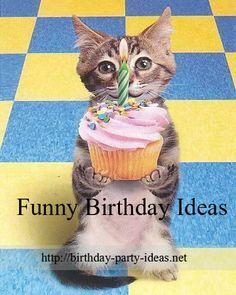 Funny Birthday Ideas - Birthday Party Ideas