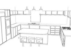 perspective kitchen - Google-søk
