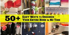 52 Manieren verbazend makkelijk te organiseren Uw Whole House
