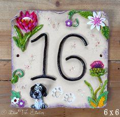 Ceramic House Address Number