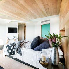 The Block Octagon: Master Bedroom Reveal The Block Australia, The Block Glasshouse, Glass House, Bedroom Styles, First Home, House Rooms, Master Bedroom, Interior Design, Bedrooms