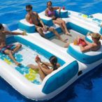 Big Inflatable Island Blue Lagoon