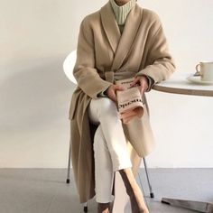 Look at this Awesome korean fashion outfits 3094334961 Fall Winter Outfits, Autumn Winter Fashion, Fashion Fall, Coat Outfit, Korean Fashion Trends, Korean Fashion Work, Korea Fashion, Mode Hijab, Fashion Outfits
