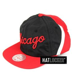 edae6115666 Hat Locker    Mitchell   Ness Chicago Bulls Anorak Snapback     54.95 plus  free