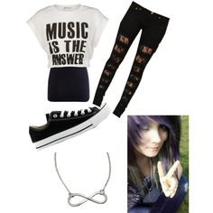 Untitled #139, created by scene-girl-foreva on Polyvore